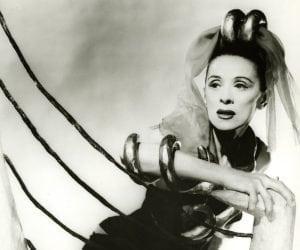 Martha Graham in Costume