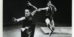 Martha Graham performs