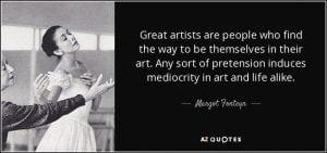 Margo Fonteyn Quote
