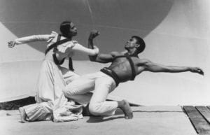 Carmen de Lavallade and Alvin Ailey at the Jacob's Pillow Dance Festival in 1961. Credit John Lindquist/Harvard Theater Collection